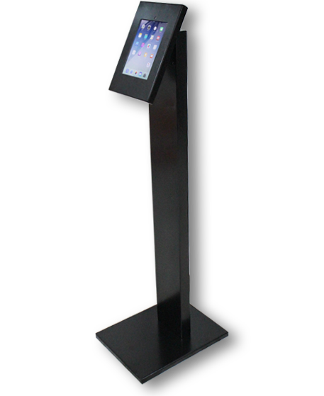 Ipad Android Tablets Floor Stand Enclosure Manufacturers